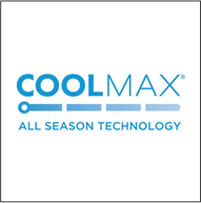 COOLMAX<sup>®</sup> EcoMade All Season Technology