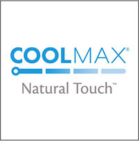 Coolmax<sup>®</sup> Natural Touch<sup>™</sup> Technology
