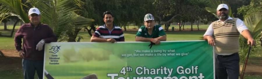 4th Golf Tournament for the Deaf Reach School