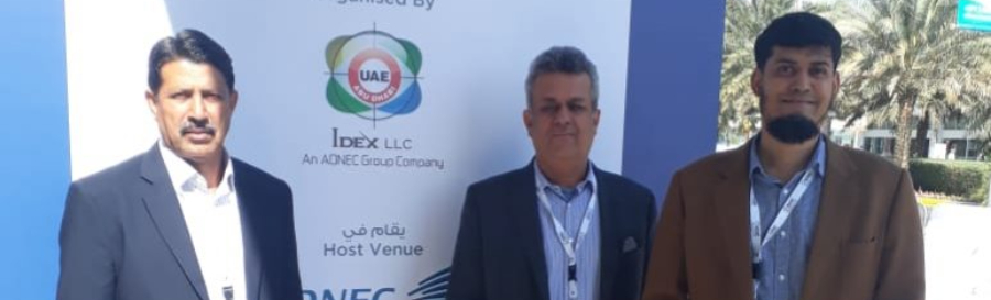 iTextiles participation in IDEX 2019 in Abu Dhabi (17 – 21 February)